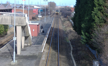 Billingham Railway Station