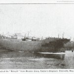 Boat launch 1903 from Craig Taylors ship yard