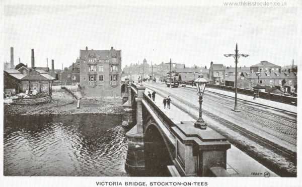 Victoria brige opened 1887