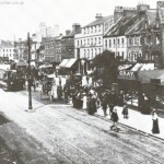 View from bridge road looking up the high street