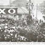 Walking Contest from five lamps 1903