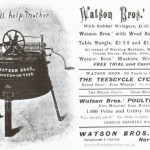 Watson Brothers Advertisement